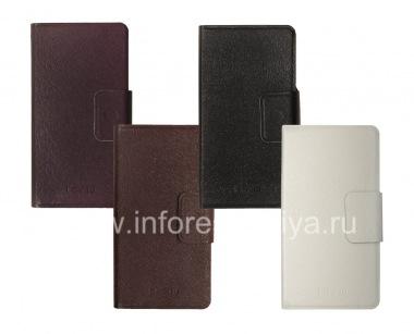 Купить Кожаный чехол горизонтально открывающийся с функцией подставки для BlackBerry Z10