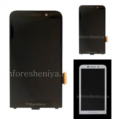 Купить Экран LCD + тач-скрин (Touchscreen) в сборке для BlackBerry Z30
