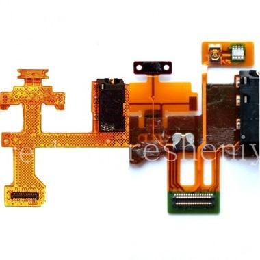 Купить Микросхема датчиков с аудиоразъемом и кнопкой включения для BlackBerry Z30