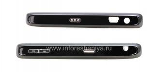 BlackBerry 8100 Pearl জন্য বোতাম সঙ্গে সাইড প্যানেল, ডার্ক ধাতব