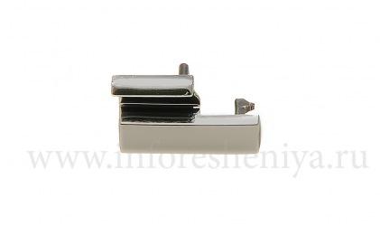 Защелка крышки аккумулятора (Battery clip) для BlackBerry 8100/8110/8120 Pearl, Металлик