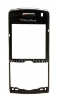 Передняя панель оригинального корпуса для BlackBerry 8100/8110/8120/8130 Pearl, Черный