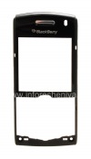 Photo 1 — panel depan casing asli untuk BlackBerry 8100 / 8110/8120/8130 Pearl, hitam