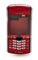 Оригинальный корпус для BlackBerry 8100 Pearl, Красный