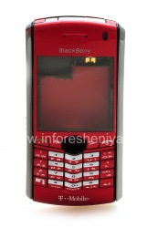 Kasus asli untuk BlackBerry 8100 Pearl, merah