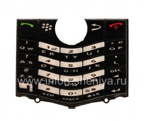 Оригинальная английская клавиатура для BlackBerry 8100/8110/8120/8130 Pearl, Черный