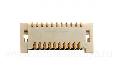 ब्लैकबेरी 8100/8110/8120 Pearl के लिए कनेक्टर एलसीडी डिस्प्ले (एलसीडी कनेक्टर)
