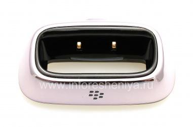 """Оригинальное настольное зарядное устройство Charging Pod """"Стакан"""" для BlackBerry 8100/8110/8120 Pearl, Металлик"""