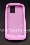 Photo 2 — Housse en silicone d'origine pour BlackBerry 8100 Pearl, Rose (Magenta)