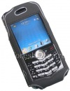Photo 2 — Marke Silikonhülle mit Clip Cellet Stingray-Fall für Blackberry 8100 Pearl, Schwarz