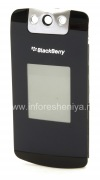 Photo 1 — The front panel of the original housing for BlackBerry 8220 Pearl Flip, The black