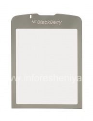 Das Originalglas auf dem internen Bildschirm für Blackberry 8220 Flip Pearl, Grau