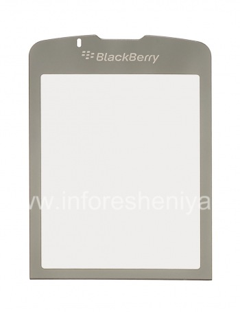 The original glass on the internal screen for BlackBerry 8220 Pearl Flip