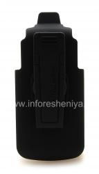 Фирменный чехол-кобура Verizon Swivel Holster для BlackBerry 8220 Pearl Flip, Черный (Black)