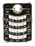 The original English Keyboard for BlackBerry 8220 Pearl Flip, The black