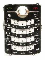 Оригинальная английская клавиатура для BlackBerry 8220 Pearl Flip, Черный