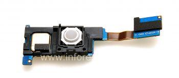 Микросхема сим-карты (SIM), карты памяти, Bluetooth в сборке с трекболом для BlackBerry 8220 Pearl Flip