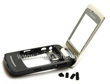 Купить Средняя часть оригинального корпуса со всеми элементами для BlackBerry 8220 Pearl Flip
