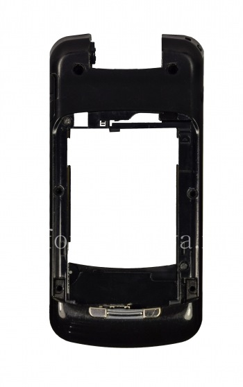 The middle part of the original case for the BlackBerry 8220 Pearl Flip