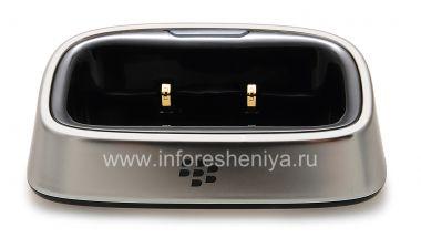 """Buy Original-Tischladestation """"Glass"""" Charging Pod für Blackberry 8220 Flip Pearl"""