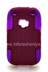 Photo 1 — ezimangelengele ikhava perforated for BlackBerry 9320 / 9220 Curve, Lilac / Fuchsia