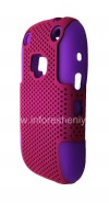 Photo 3 — ezimangelengele ikhava perforated for BlackBerry 9320 / 9220 Curve, Lilac / Fuchsia