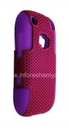 Photo 5 — ezimangelengele ikhava perforated for BlackBerry 9320 / 9220 Curve, Lilac / Fuchsia
