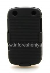 Пластиковый чехол + кобура для BlackBerry 9320/9220 Curve, Черный