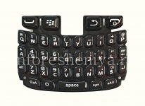 لوحة المفاتيح الإنجليزية الأصلي لبلاك بيري كيرف 9320/9220, أسود