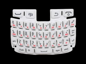 White Russian ikhibhodi BlackBerry 9320 / 9220 Curve