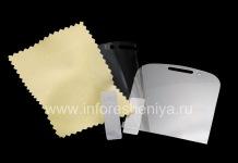 Защитная пленка для экрана прозрачная для BlackBerry 9320/9220 Curve, Прозрачный