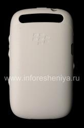 Оригинальный силиконовый чехол уплотненный Soft Shell Case для BlackBerry 9320/9220 Curve, Белый (White)