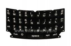 Оригинальная английская клавиатура для BlackBerry 9360/9370 Curve, Черный