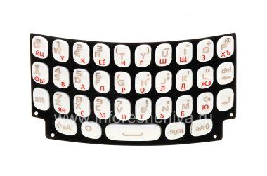 Купить Белая русская клавиатура для BlackBerry 9360/9370 Curve