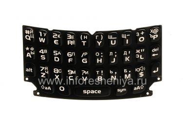 Купить Русская клавиатура для BlackBerry 9360/9370 Curve (гравировка)