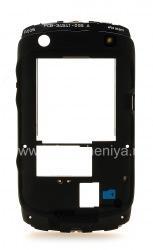 Средняя часть оригинального корпуса для BlackBerry 9360/9370 Curve, Черный