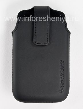 Buy Original Leather Case with Clip for Leather Swivel Holster BlackBerry 9360/9370 Curve