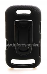 Фирменный чехол + крепление на ремень Body Glove Flex Snap-On Case для BlackBerry 9360/9370 Curve, Черный