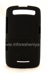 Фирменный пластиковый чехол Seidio Surface Case для BlackBerry 9360/9370 Curve, Черный (Black)