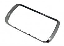BlackBerryの曲線9380のためのオリジナルリム, メタリック