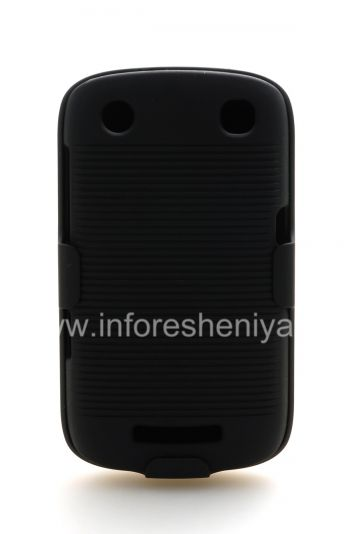 Plastic Case + Holster for BlackBerry Curve 9380