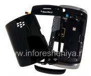 Оригинальный корпус для BlackBerry 9380 Curve, Черный