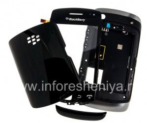 Logement d'origine pour BlackBerry Curve 9380, noir