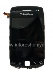 Оригинальный экран LCD в сборке с тач-скрином для BlackBerry 9380 Curve, Черный, тип экрана 003/111