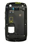 Der mittlere Teil des ursprünglichen Fall für Blackberry Curve 9380, Schwarz