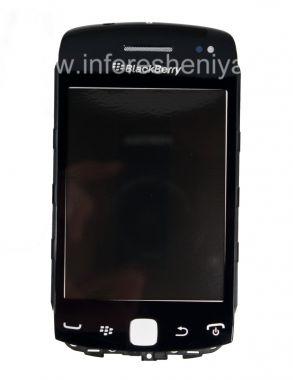 Buy Layar sentuh (Touchscreen) dalam perakitan dengan panel depan untuk BlackBerry 9380 Curve