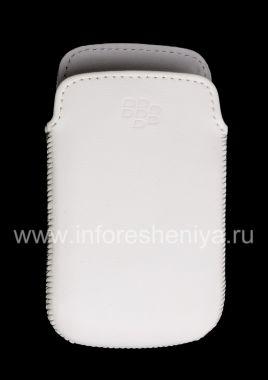 Купить Оригинальный кожаный чехол-карман Leather Pocket для BlackBerry 9380 Curve