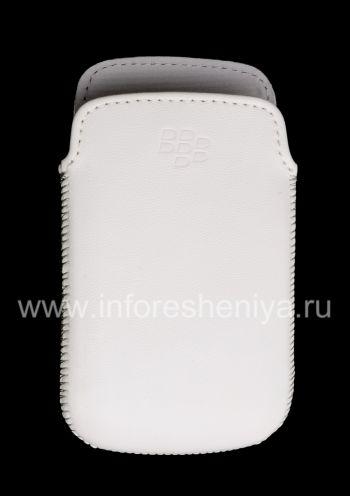 Original-Leder-Kasten-Tasche Ledertasche für Blackberry 9380 Curve