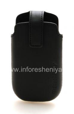 Купить Оригинальный кожаный чехол с клипсой Leather Swivel Holster для BlackBerry 9380 Curve