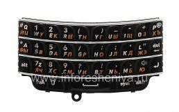 Русская клавиатура BlackBerry 9790 Bold, Черный